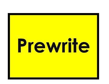 Self-Regulatory Writing Process Pencil and Student Checklist