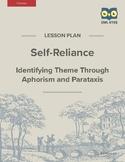 Self-Reliance: Identifying Theme Through Literary Devices