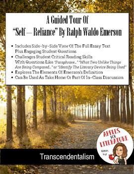 Self Reliance, Ralph Waldo Emerson