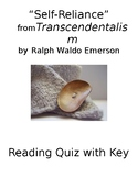 Self Reliance Ralph Waldo Emerson Worksheets & Teaching Resources   TpT