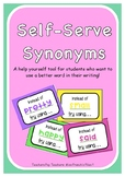 Self-Serve Synonyms