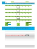 Self-Shuffling, Self-Grading Paper-and-Pencil M/C Assessment Template