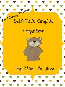 Self-Talk Graphic Organizer For Blaming