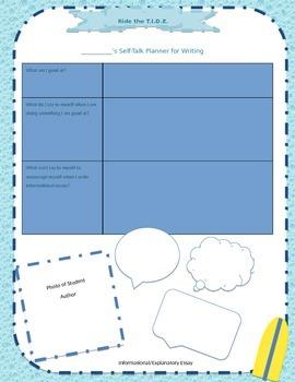 Self-Talk Planner for SRSD Writing
