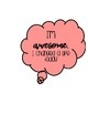 Self Talk Thought Bubbles