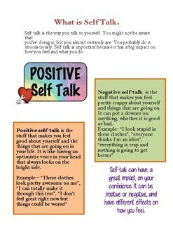Self Talk lesson
