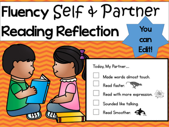 Self and Partner Fluency Reflection