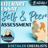Self and Peer Editing Checklist for Essays