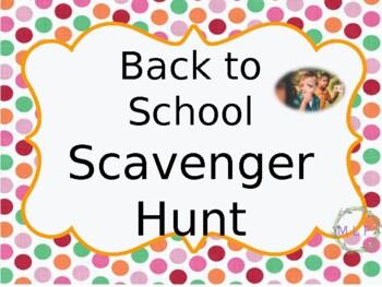 Scavenger Hunt Open House