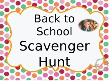 Scavenger Hunt Open House