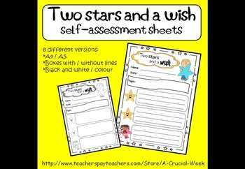 Self-assessment - Two Stars and a Wish