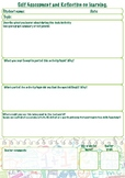 Self assessment and reflection on learning
