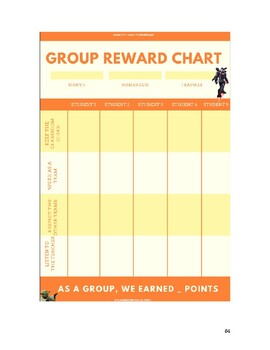 Self-assessment charts - Multiverse Game