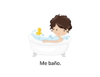Self-care Spanish Daily Routine Rutina Quehaceres de Cuidado Personal