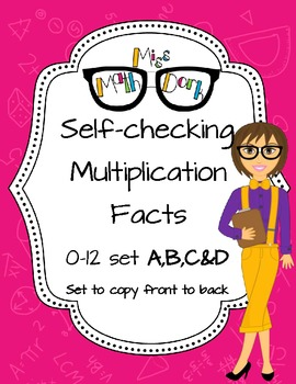 Self-check Multiplication Facts 0-12