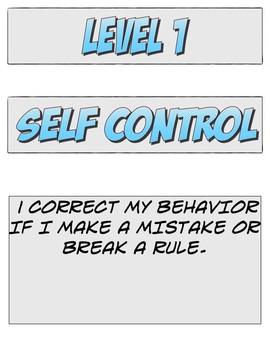 Self evaluation behavior chart