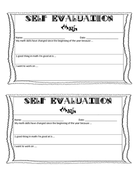 Self evaluation bundle