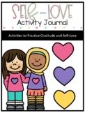 Self-love activity journal