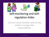 Self-Monitoring and Self-Regulation Checklists for Kids