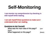 Self-monitoring reading visual