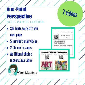 Self-paced, One-point Perspective Unit