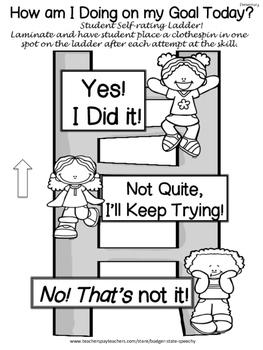 Freebie!  Self Assessment Forms!