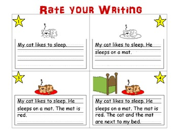 Self-Rating Poster for Writing Center