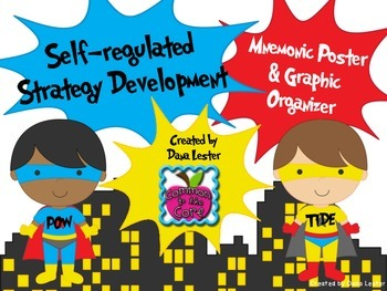Self-regulated Strategy Development Posters for Informative Writing