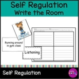 Self regulation Bundle Write the Room and Emotions or Situation sort