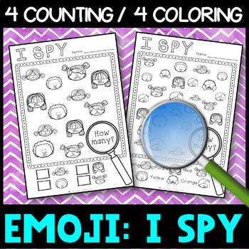 Emotions: I SPY visual perception - No Prep Activity Centre