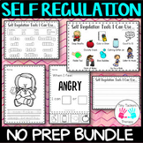 Self regulation tools: No prep activity centre bundle