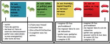 French Self-regulation tracker