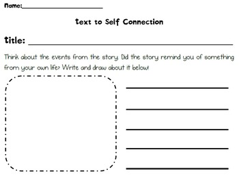 Self to Text Connection Differentiated
