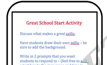 Selfie Bulletin Board