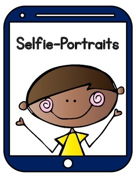 Selfie-Portrait Bulletin Board Set