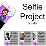 Selfie Project Bundle: Harlem Renaissance, Classic Authors, and Famous Artists