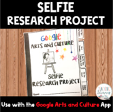 Selfie Research Project - Google Arts & Culture App - Inte