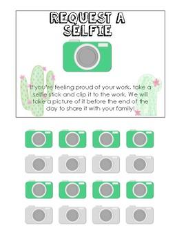 Selfie Request (Cactus themed)
