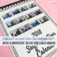 Editable Calendar Template | End of Year Gift | Student Made Gifts for Parents