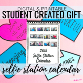 Editable Calendar Template | End of Year Gift | Student Ma