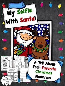 Selfie with Santa! {January Writing Activity}