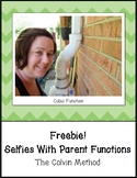 Selfies with Parent Functions Activity