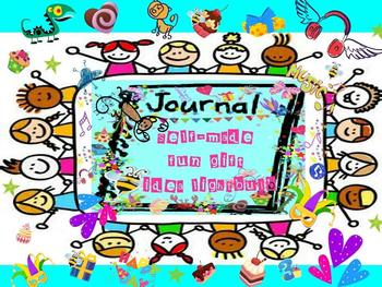 Self~made Fun Gift Idea Lightbulb Journal