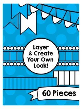 Seller Design Clipart Bundle: Green {A Hughes Design}