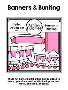 Seller Design Clipart Bundle: Pink {A Hughes Design}