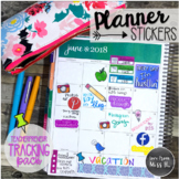 Seller Planner Stickers: Tracking Pack