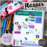 Seller Planner Stickers: Arrow Pack