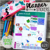 Seller Planner Stickers: Doodle Pack