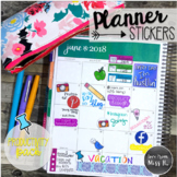 Seller Planner Stickers: Productivity Pack