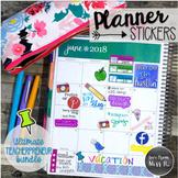 Seller Planner Stickers: Teacherpreneur Growing Bundle